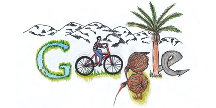 Doodle 4 Google New Zealand Winner 2013 : New Zealand